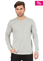 NUDIE JEANS NJ/LST 03 L/S T-Shirt grey melange