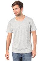 NUDIE JEANS Round Neck S/S T-Shirt grey melange