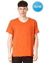 NUDIE JEANS Roundneck Pocket S/S T-Shirt orange