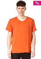 NUDIE JEANS Roundneck Pocket S/S T-Shirt orange