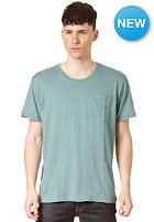 NUDIE JEANS Roundneck Pocket S/S T-Shirt turquoise