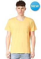 NUDIE JEANS Roundneck Pocket S/S T-Shirt yellow