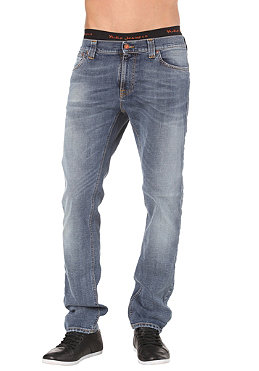 NUDIE JEANS Thin Finn Pant organic summer indigo