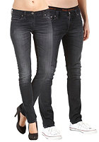 NUDIE JEANS Tight Long John Unisex Pant organic black and grey