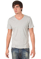 NUDIE JEANS V-Neck NJ/T 03 S/S T-Shirt grey melange