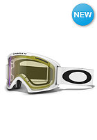 02 XL Matte White Goggle hi yellow iridium