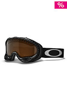 OAKLEY A-Frame Snow Goggle 2013 true carbon fiber/black iridium