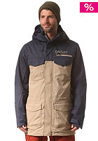 OAKLEY Blackhawk Biozone Snow Jacket peacoat