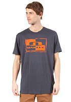 OAKLEY Block It S/S T-Shirt navy blue