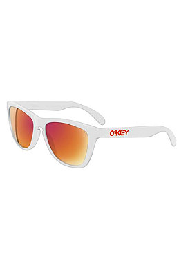 OAKLEY Bob Burnquist GasCan polished white/ruby iridium