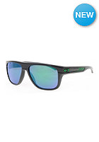 OAKLEY Breadbox Toxic Blast Sunglasses dark grey/emerald iridium