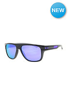 OAKLEY Breadbox Toxic Blast Sunglasses dark grey/violet iridium