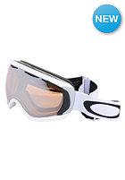 OAKLEY Canopy Matte White Goggle black iridium