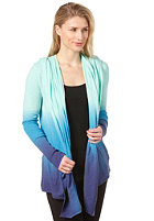 OAKLEY Cocoon Throw Cardigan lagoon blue