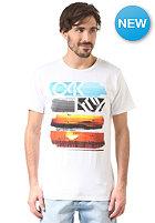 OAKLEY Core Sunset S/S T-Shirt white