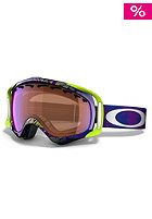OAKLEY Crowbar Snow Goggle 2013 camo net purple/blue iridium