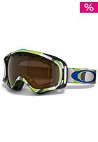OAKLEY Crowbar Snow Goggle 2013 factory slant 2 green/black iridium