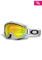 OAKLEY Crowbar Snow Goggle 2013 matte white/fire iridium