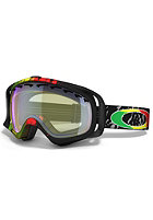 OAKLEY Crowbar Tanner Hall Signature Goggle 2013 rasta mane/h.i. yellow