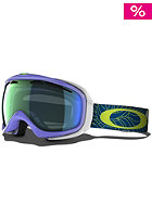 OAKLEY Elevate Snow Goggle 2013 dusk plume/emerald iridium