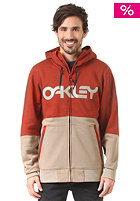 OAKLEY F-14 Factory Pilot Hooded Sweat burnt henna
