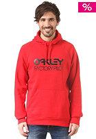 OAKLEY Factory Pilot Hooded Sweat red line