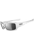 OAKLEY Five Squared Sunglasses polished white/black iridium polarized