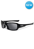 OAKLEY Fives Squared Sunglasses polished black w/ blk ird pol
