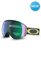 OAKLEY Flight Deck 1975 Lime Gunmetal Goggle jade iridium