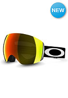 OAKLEY Flight Deck Matte Black Goggle fire iridium