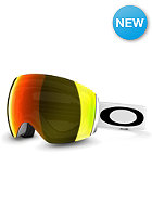 OAKLEY Flight Deck Matte White Goggle fire iridium