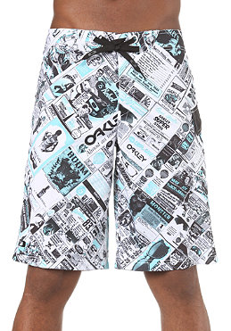 OAKLEY Floor It Boardshort blue print
