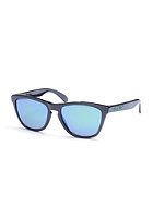 OAKLEY Frogskin Sunglasses black ink/jade irid pol