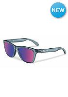 OAKLEY Frogskin Sunglasses cyrstal black/red iridium