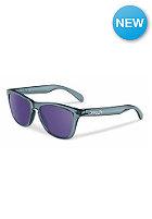 OAKLEY Frogskin Sunglasses cyrstal black/violet iridium
