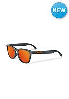 OAKLEY Frogskin Sunglasses dark grey/fire iridium polarized