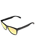 OAKLEY Frogskin Sunglasses matte black/ruby iridium polarized