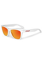 OAKLEY Frogskins Sunglasses polished white ruby iridium