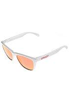 OAKLEY Frogskins Sunglasses polished white/ruby iridium