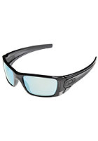 OAKLEY Fuel Cell Sunglasses polished black ink/emerald iridium