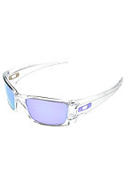 OAKLEY Full Cell Sunglasses polished clear/ violet iridium