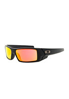 OAKLEY Gascan Sunglasses matte black/ruby iridium
