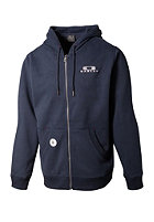 OAKLEY Heritage Full Hooded Zip Sweat navy blue
