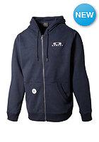 OAKLEY Heritage Full Hooded Zip Sweat navy blue