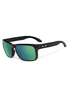 OAKLEY Holbrook Sunglasses matte black/emerald iridium polarized