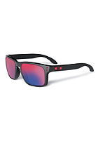 OAKLEY Holbrook Sunglasses matte black red iridium