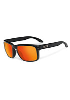 OAKLEY Holbrook Sunglasses matte black/ruby iridium polarized