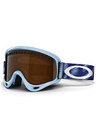 OAKLEY O-Frame Snow Goggle 2013 snow traction crystal blue/black iridium