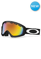 OAKLEY O2 XS Matte Black Goggle fire iridium