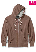 OAKLEY Pennycross 2.0 Hooded Zip Sweat dark sienna